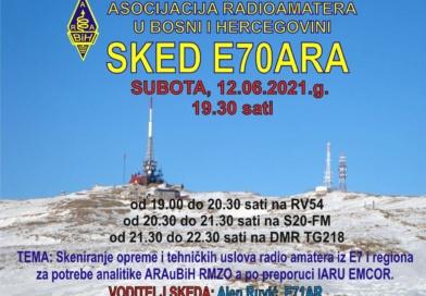 U SUBOTU 12.06.2020.g. ODRŽAN SKED I EMCOM VJEŽBA
